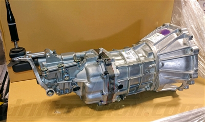New R154 Transmission With Bell Housing and Shifter